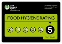 Food Hygiene Standards Agency rating -Very Good